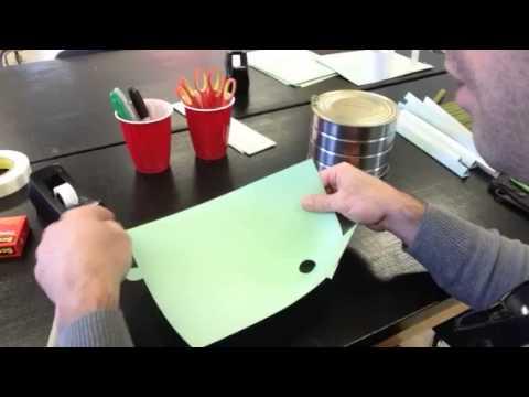 Paper Roller Coaster Funnel / Half Pipe Hybrid - YouTube - paper roler