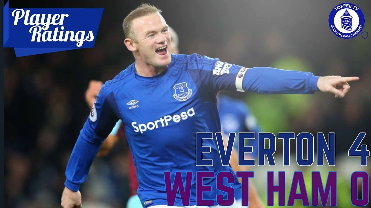 Download Everton 4-0 West Ham United | EFC Player Ratings