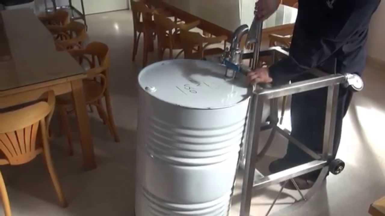 Metalmecanica Carros Para Levantar Tambores De 200 Litros Hd Youtube
