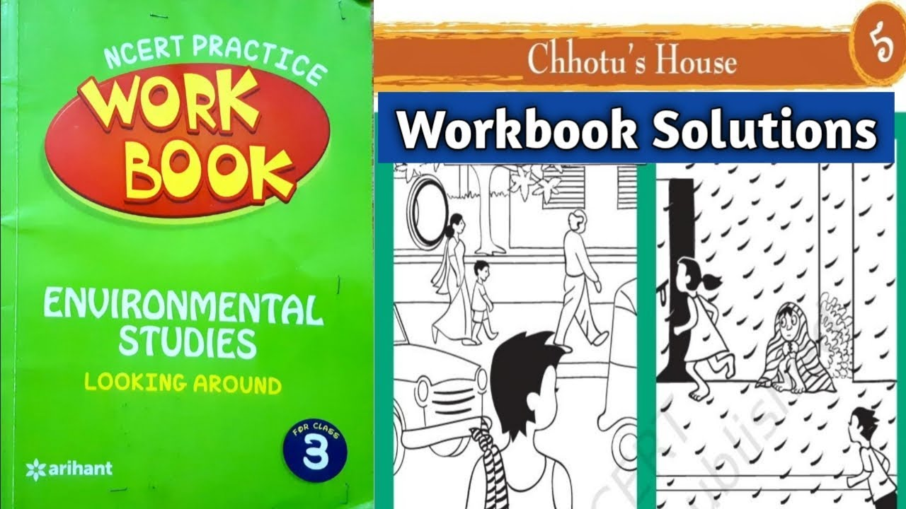 Chhotu's House Workbook Solutions | Class 3 EVS Chapter 5 | NCERT workbook  Arihant Publication