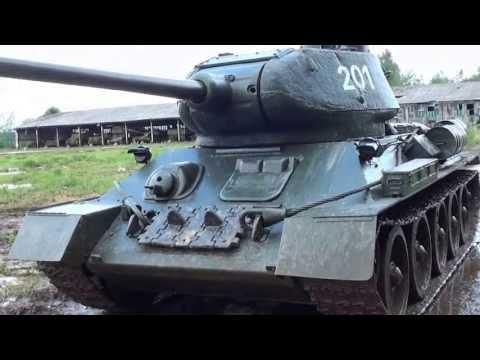 Танк Т-34-85 обр.1960г.  Танковый музей в Кубинке