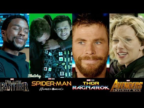 Marvel Cast Hilarious Bloopers and Gag Reel(Part-2) | Try Not To Laugh 2018