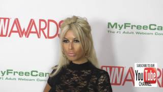 Bridgette B and Markus Dupree at the 2017 AVN Awards Nomination Party at Avalon Nightclub in Hollywo