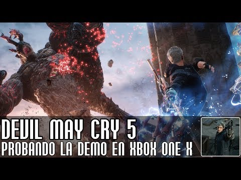 Devil May Cry 5 || ¡Probando la demo en XBOX One X! thumbnail
