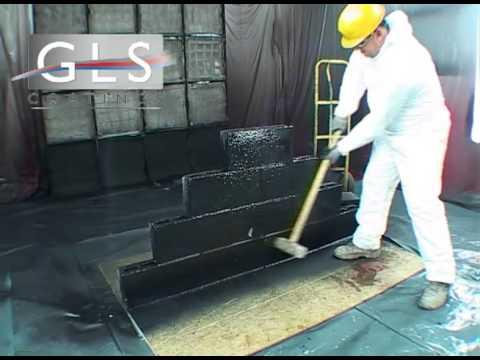 GLS Coatings' Polyurea Sledgehammer Test