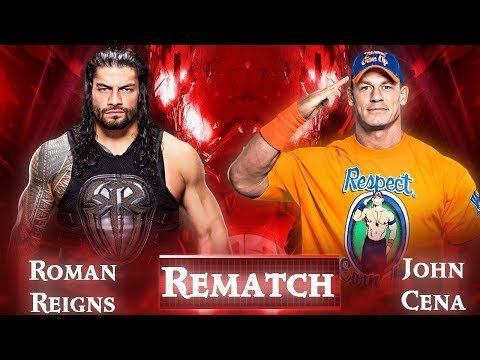 Roman Reigns Vs John Cena Rematch Booked | Huge Match Announced Madison Square Garden 2017
