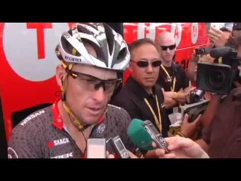 2010 Tour de France Stage 5 Lance Armstrong & Johan Bruyneel