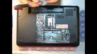 видео Разборка ноутбука HP Pavilion g6. Чистка от пыли и замена термопасты