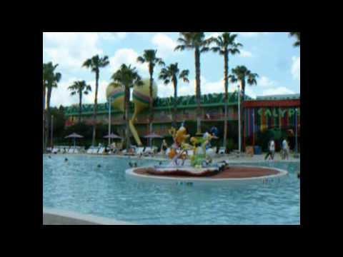 Disneys All Star Music Resort Pool 2006