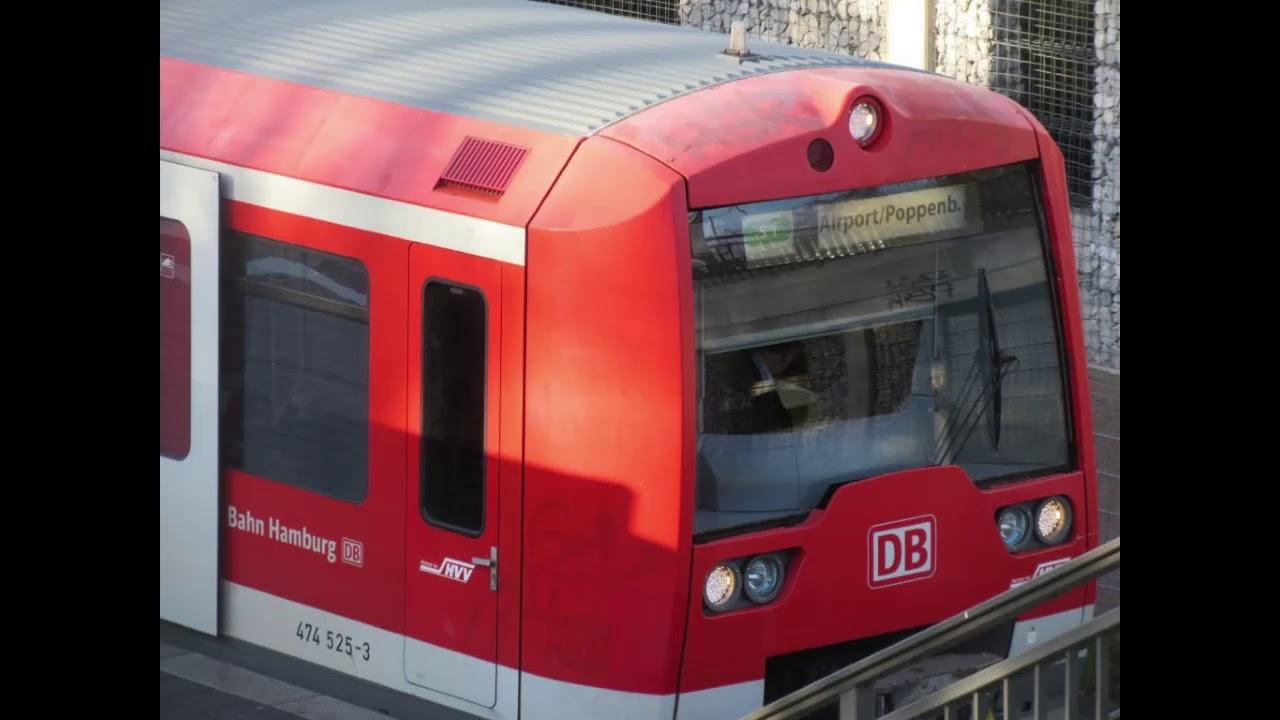 S Bahn Hamburg Ansage Englisch Ohlsdorf Poppenbüttel