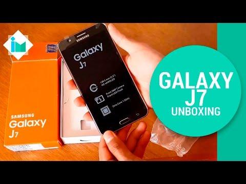 Samsung Galaxy J7 - Unboxing en español