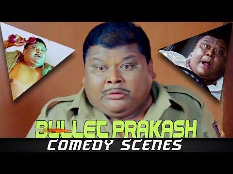 Bullet Prakash Comedy Scenes | 2018 Best Hindi Dubbed Funny Hilarious Scenes thumbnail