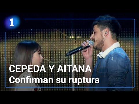 Cepeda confirma su ruptura con Aitana   Corazón