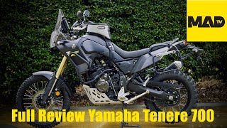 Review   Yamaha Tenere T700   Motorcycle Adventure Dirtbike TV