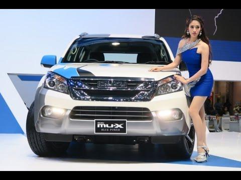 ภาพและราคา ISUZU D-MAX MU-X ในงาน Bangkok Motor Show 2016 THAILAND