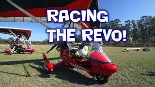 Part 2...'HANGAR O' CHASING Down the Revo Trike. Coffee at Gympie Airport