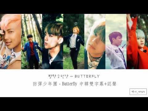 【中韓雙字幕+認聲】방탄소년단(防彈少年團/BTS) - Butterfly
