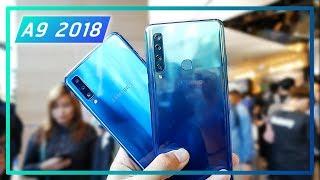 """สเปค Samsung Galaxy A9 2018 Display 6.3 """" FHD+ Gorilla Glass 5 Snap..."""