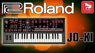 ROLAND JD-XI - супер синтезатор для концертов и студии