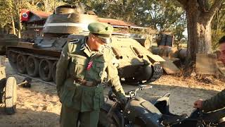 Behind the scenes of the war movie Iron Cross