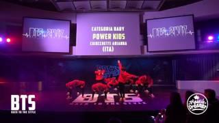 BTS 2K17 - CHOREOGRAPHIC (Baby) \\ Power Kids (Italy)
