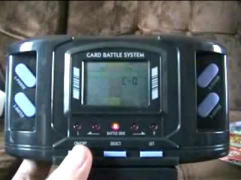 Barcode Battler Review (attempted)