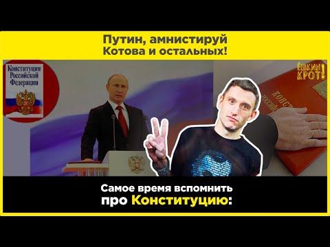 Путин, амнистируй Котова и остальных!