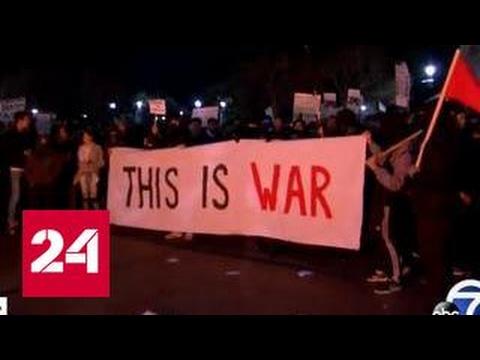 """""""Это - война"""": студенты разгромили университет Berkeley"""