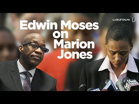 Edwin Moses on Marion Jones