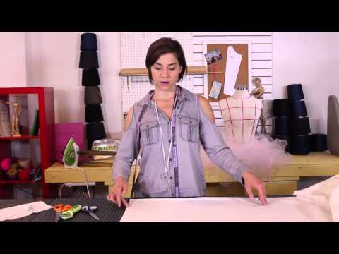 How To Sew - How to Cut Fabric