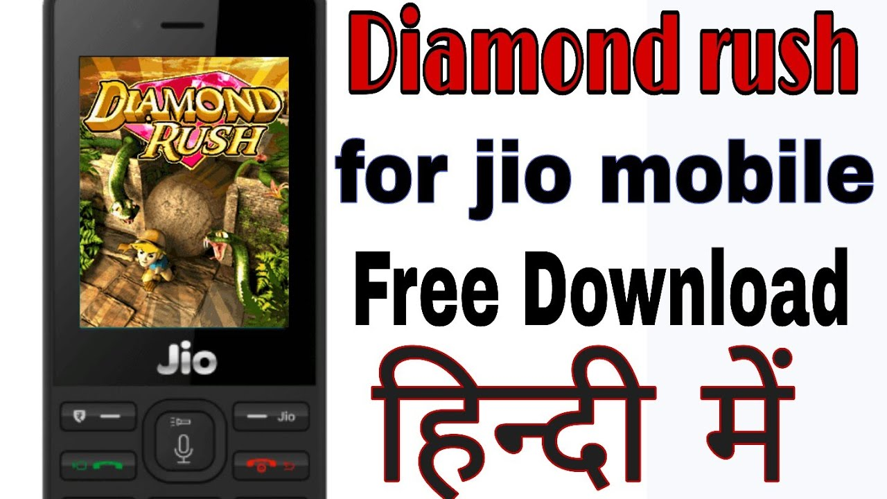 diamond rush download for jio phone