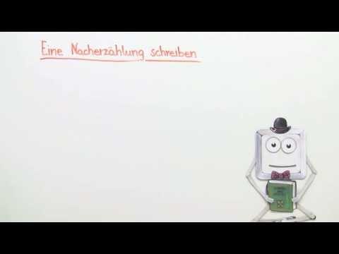 Wie Schreibe Ich Eine Nacherzählung Deutsch Grundschule Youtube
