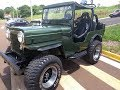 Jeep Willis 1953 traçado 4x4