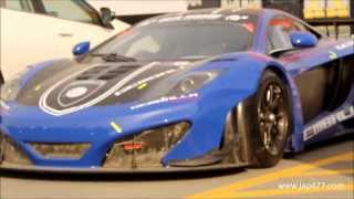 Gemballa McLaren MP4-12C GT3 2011 Videos