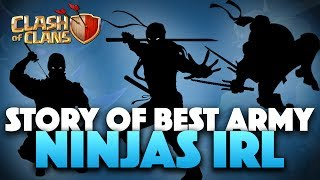 Ninjas In Real Life | They Are Legend Attackers | Clash Of Clans