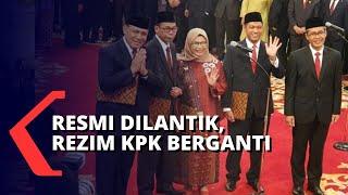 Presiden Joko Widodo Melantik Pimpinan KPK, Firli Bahuri Jadi Ketua KPK