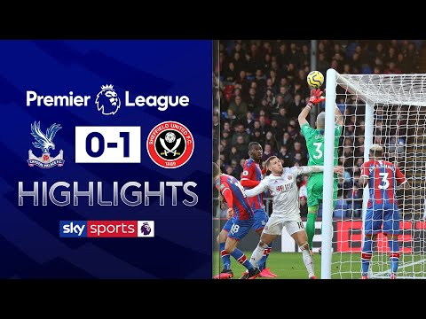Vicente Guaita's howler hands Sheffield Utd win | Crystal Palace 0-1 Sheff Utd | EPL Highlights