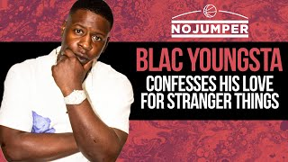 Blac Youngsta confesses his love for Stranger Things, why he doesn't like the club