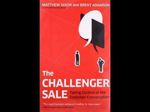 CHALLENGER SALE - How to BEAT the Challenger Sale - Myth - Challenger Customer