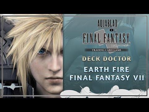 FFTCG - Deck Doctor - Earth Fire Final Fantasy VII
