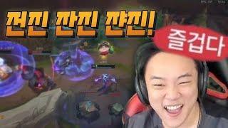[LOL] 전진 잔진 쟌진!!  동물원에 절여진 자, Korean 젤커    [풀영상]