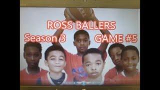 ROSS BALLERS Season 3 Game #Five(Sport)- A Bird Waffle Film