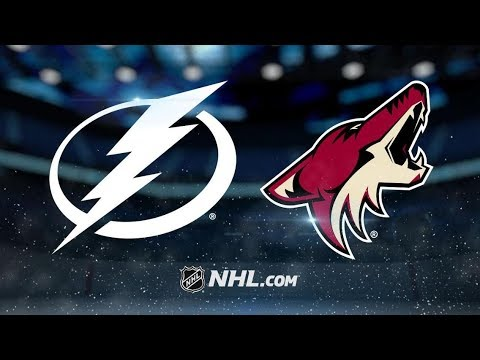 Tampa Bay Lightning vs Arizona Coyotes – Oct.27, 2018 | Game Highlights | NHL 18/19 | Обзор матча