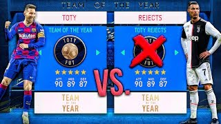 Team of the Year vs. REJECTS! - FIFA 20 Career Mode