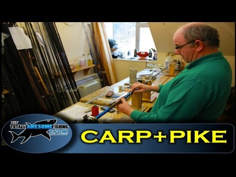 How to build a Carp&Pike fishing rod - Totally Awesome Fishing Show