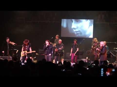 Bono and Johnny Depp perform Rainy Night in Soho