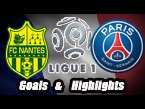 Nantes vs Paris Saint Germain - Goals & Highlights - Ligue 1 18-19