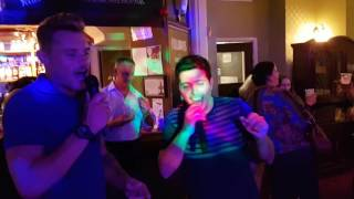 Rick Astley Never Gonna Give You Up Live in Farnborough (Karaoke version)