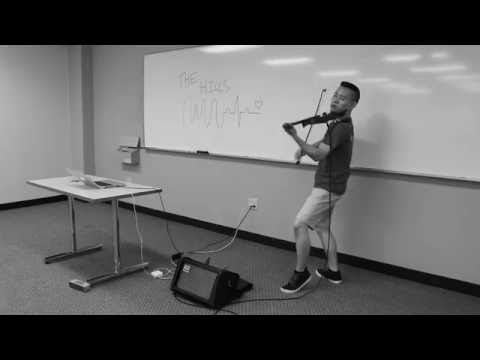 The Weeknd - The Hills (Violin Cover) - Justin Chiou