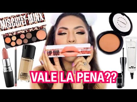 Probe Maquillaje De Mac Y Asi Me Fue Beautybynena Youtube